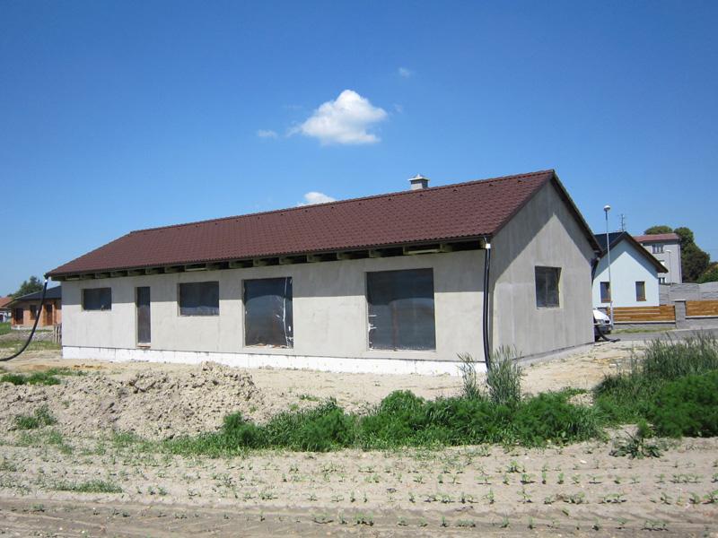 Stavíme v Němčicích u Kolína